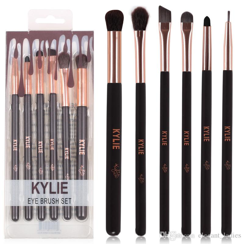 Actory Direct Hot New Kylie Makeup =Eye Brush Set Makeup Tools Dhl With Gift Eyeshadow Brushes Lip Brush From Elegant_ladies, $2.99  Dhgate.Com