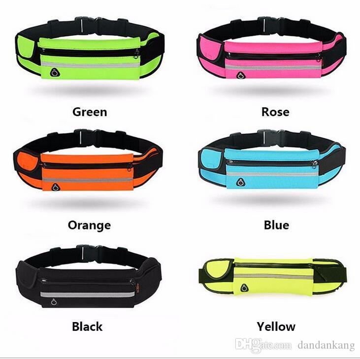 Waterproof running Waist Bag Outdoor Sport Fanny Pack Pouch Water Resistant Phone Case For iPhone X 8 7 6 Plus