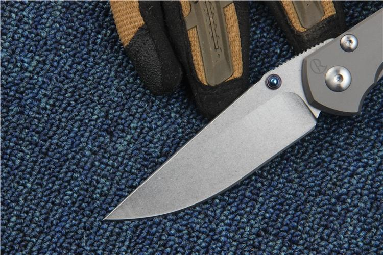 CHRIS REEVE IDAHO Made 25th Anniversary Edition Tactical Folding Pocket Knife S35VN TC4 Handle Hunting Survival Utility EDC Gift Collection
