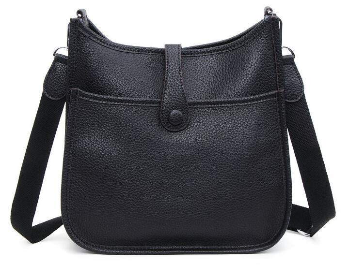 5fae1aee66d3 2016 New High Quality Genuine Leather Women Bag Handbag Messenger Bag Brand  Designed Fashion Vintage Women Shoulder Bag Shoulder Bag Online with ...