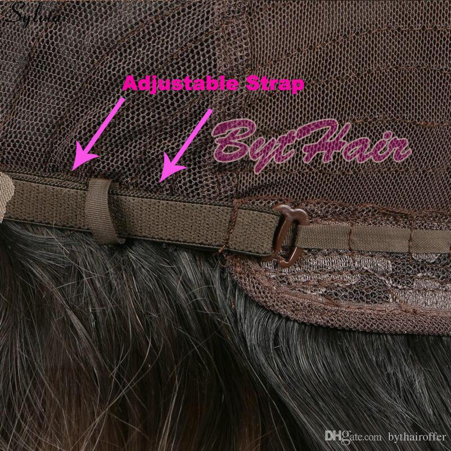 Bythair Hitzebeständige Faser Glueless Natural Hairline Körperwelle Haar Voll Perücken für Frauen Mixed Rosa Synthetische Lace Front Perücke
