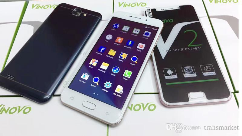 100% New V2 Smartphone 5.5 Inch MTK 6580 Quadcore Mobliephone 1GB RAM 4GB ROM Dual Camera 5.0MP Back Camera Beauty Camera Android Smartphone