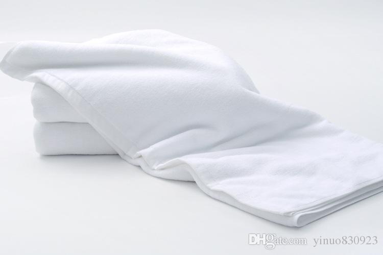 Bathrobe 500g 70*180cm toalha Towels Best Luxury Hotel Spa Bath Towel 100% Cotton White Solid Bath Towels Bar