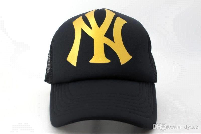 ... Cheap Yankees Fitted Caps Baseball Cap Embroidered Team NY Letter Size  Flat Brim Hat Yankees Baseball ... 37a56aebb