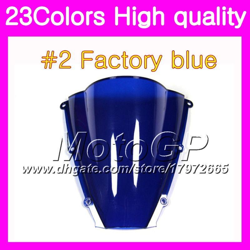 Windscreen For YAMAHA R6 YZFR6 03 04 05 YZF-R6 YZF600 YZF 600 YZF R6 2003 2004 2005 Chrome Black GPear Smoke Windshield