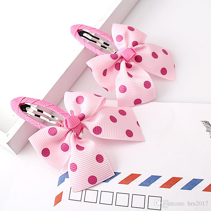 =Bow Baby Girls Headwear Sets Headband Hairpins Child Accessories Hairband Gum for Hair Hair Clip Barrettes