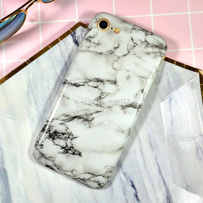 Luxury Soft TPU Cover Phone Protective Shell Marble Case for iPhone 12 11 Pro XS Max XR X 6 6S 7 8 Plus