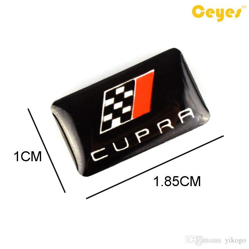자동차 Leal CUPRA에 대 한 개인화 된 패션 에폭시 로고 스티커 맞춤형 귀여운 자동차 로고 Brand Car Styling /