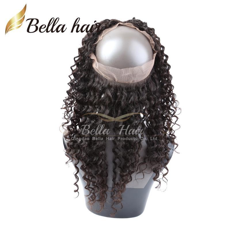 360 laço frontal brasileiro cabelo virgem 22 * 4 * 2 lace frontals fechamentos lace banda fechamento Bella cabelo