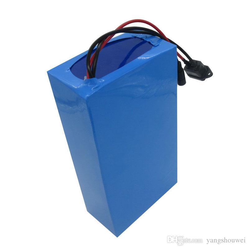 Batteria agli ioni di litio 24V 30AH Batteria 24V 7S 500W bici elettriche Batteria 24V Ebike a batteria 18650 con caricabatterie BMS 29.4V 3A