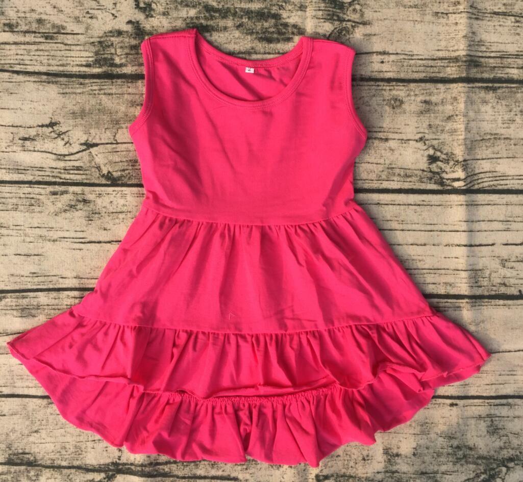 Großhandel Baby Kinder Kleidung Baby Kleid High Low Kleider Bilder