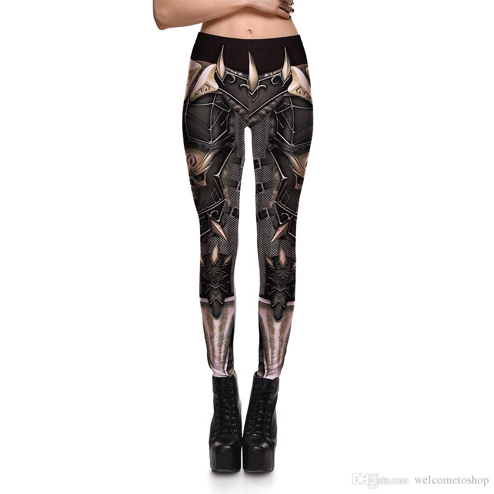 b09e9ccd414 Hot Sale Womens Mechanical Print Pattern Casual Slim Fitness Sports Leggings  Pencil Pants For Female Fashion Plus Size Skinny Trousers Fitness Leggings  with ...