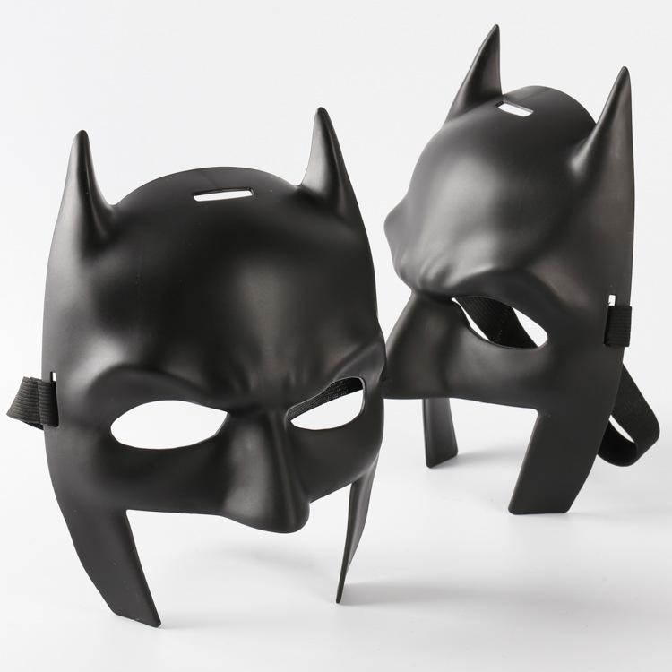 Batman v Superman Mask High Quality Batman Mask Mardi Gras Party Mask Costume Decoration Costume Masquerade Theme BlackChild Size