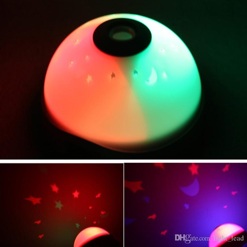 7 Changement de couleur Starry Digital Clock Magique LED Projection Réveil Night Light Décor À La Maison Alarme Horloges Cadeau Pour Enfants