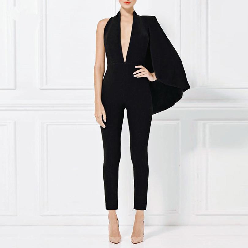 4405526650a5 Wholesale- HIGH QUALITY New Fashion 2017 Designer Jumpsuit Women s ...