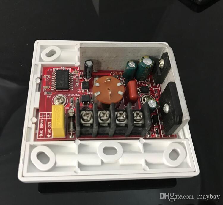 디 밍이 가능한 LED 조광 스위치 200W 220V 단일 컬러 램프 디머 원격 제어