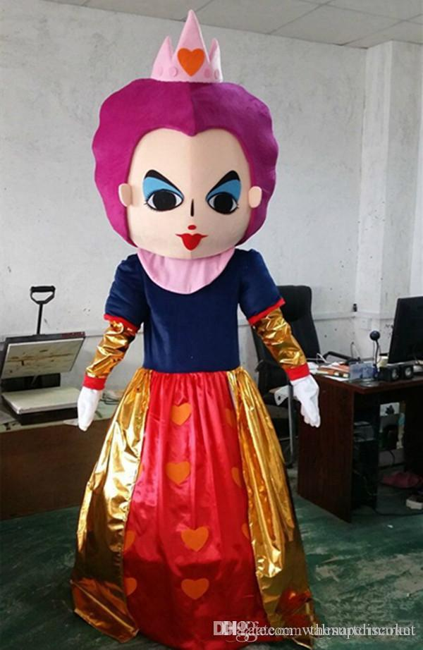 ... Mascot Costume Red Queen Mascot Cartoon Costume Halloween Costumes For Role Playing Apparel Party Dress Factory Direct S Bird Costumes Tom Arma Costumes ...  sc 1 st  DHgate.com & Alice In Wonderland Mascot Costume Red Queen Mascot Cartoon Costume ...
