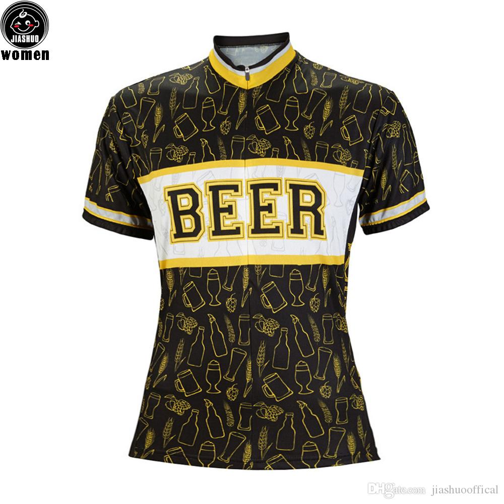 5536ae8aa Women Customized NEW BEER Bike Mtb Road RACE Team Pro Cycling Jersey    Shirts   Tops Clothing Breathing Air JIASHUO Cycling Jerseys Cycling Shirts    Tops ...