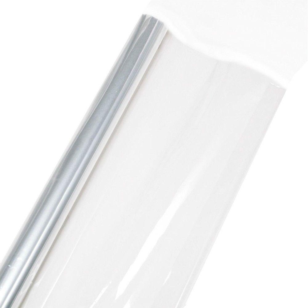 Envoltório De Papelão Celofane Transparente Transparente Opp Envoltórios De Plástico Flor Cesta De Frutas Material de Papel De Embalagem De Presente 70 cm * 20 m