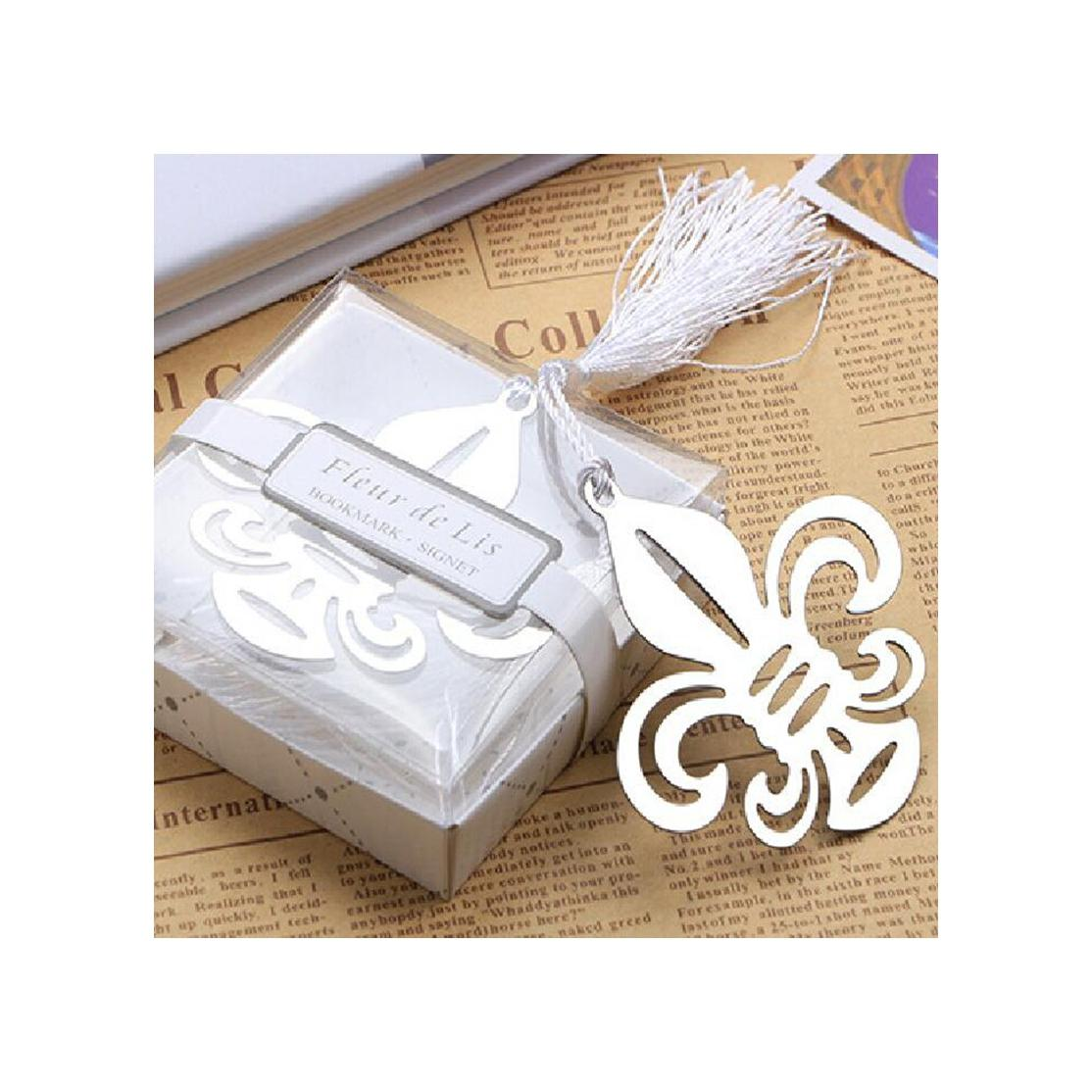 2018 Metal Wedding Souvenirs Of Fleur De Lis Bookmark Wedding ...