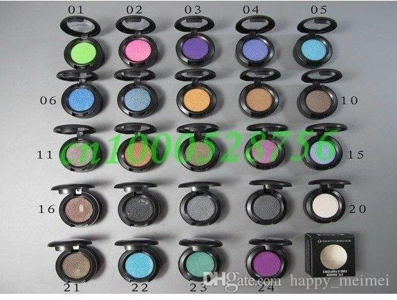 M Brand Makeup Single Color Eyeshadow Palette Eye Shadow Pigments 1.5g High Quality