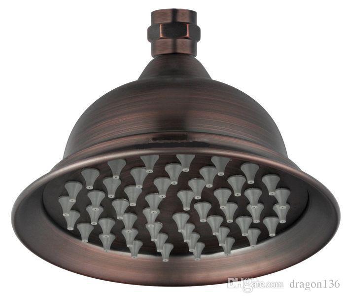 BLL cabeça de chuveiro de bronze de 6 polegadas engrossar latão engrossar acabamento antigo A6ZZDP-05