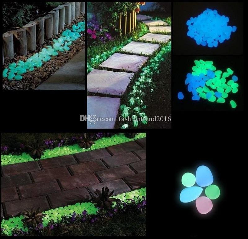 Acheter Décoration De Jardin Artisanat Solaire Glow Stone Galets ...