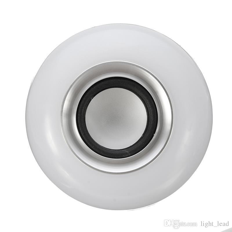E27 Smart LED Lampe RGB Sans Fil Ampoule Bluetooth Lampada Haut-Parleur Lamparas RC Ampoule 85V-265V Bombillas Lumière Musique Jouer