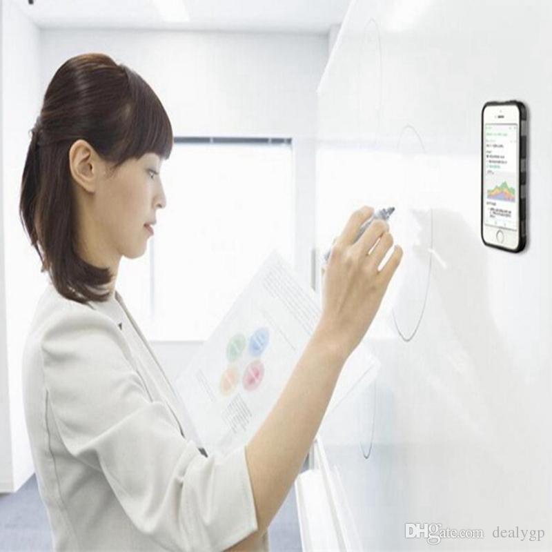Нано-адсорбции гибридный ПК TPU липкий магия самозащита анти-гравитация чехол для Samsung S8 Plus S8 для iPhone 7 Plus 7