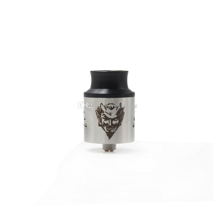 Wholesale Baal V4 RDA Atomizer 24MM Clone with Wide Bore Drip Tip Peek Insulators Adjustable Airflow fit 510 E Cigarette DHL Free