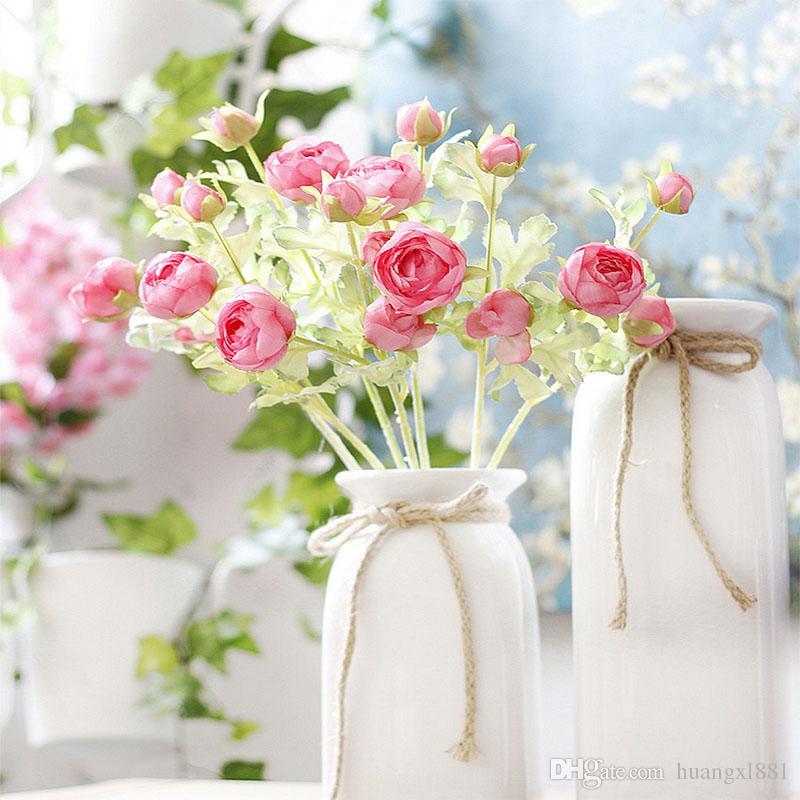 Nuova decorazione artificiale di seta fiore falso nuova simulazione fiore decorazione di nozze casa riunione hotel decorazione fiore di seta