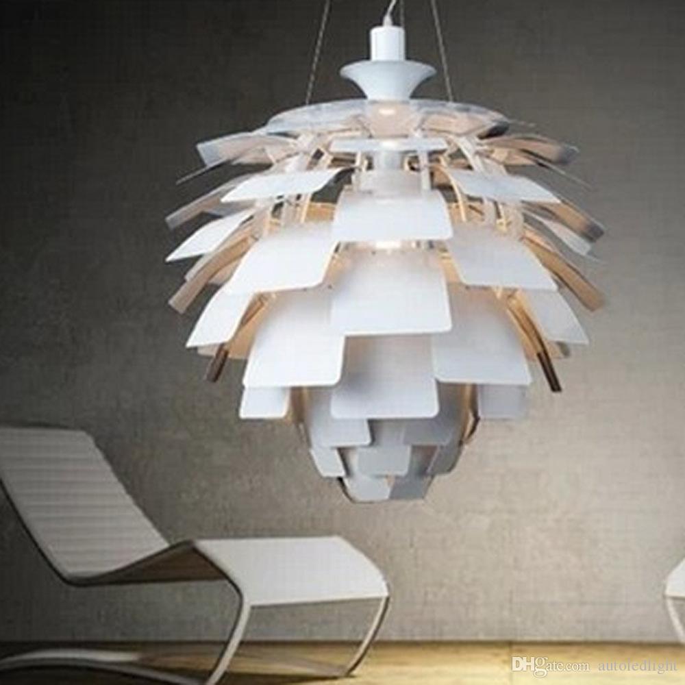 50cm Louis Poulsen Ph Artichoke Lamp Designe Denmark Modern Suspension  Pendant Light Chandelier Living Room Lamp Foyer Pendant Lighting Screw In  Pendant ...