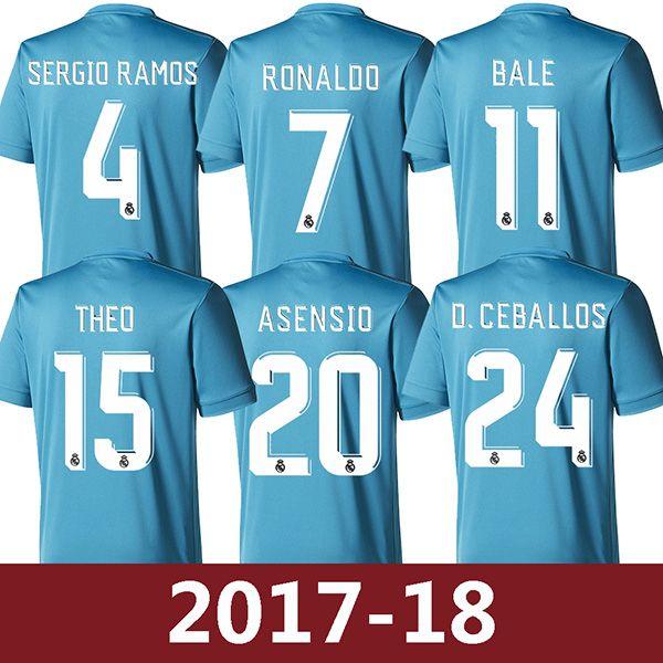 Camiseta Real Madrid D. Ceballos