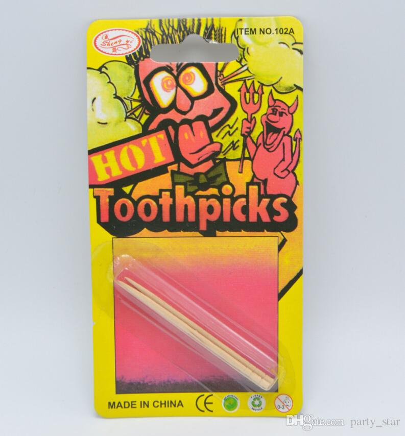 birthday april fools day party hot toothpicks props funny joke hot toothpicks tool party trick spoof toys 50th birthday party favors 50th birthday party