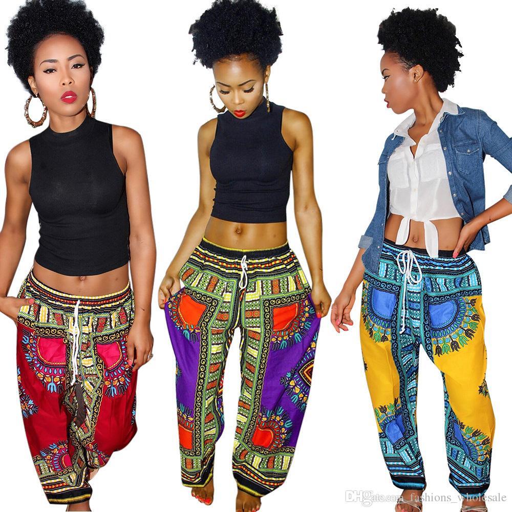 149d4fe13b 2019 2018 Hot New Fashion Women Bohemia Pants Full Length Pants Floral  Print High Waist Wide Leg Pants From Fashions_wholesale, $18.8   DHgate.Com
