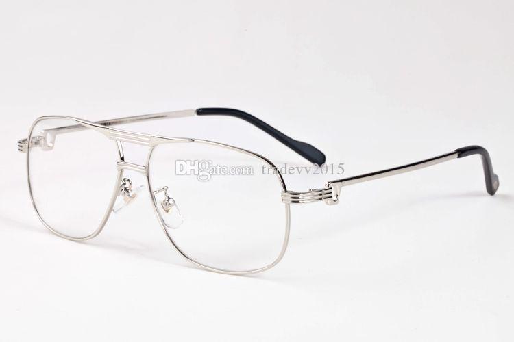 Flat Top übergroße große Sonnenbrille Frau Marke Designer Büffelhorn Brille Vintage Retro Männer Frau Gold Silber Oculos De Sol