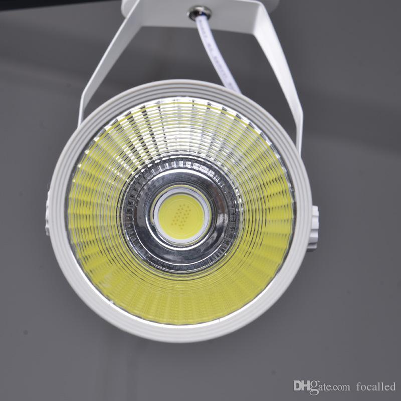 DHL Cool COB branco dimmable Led Faixa de Luz 5W 7W 9W 12W 120 ângulo levou Spotlight teto AC85-265V levou iluminação local + CE ROHS