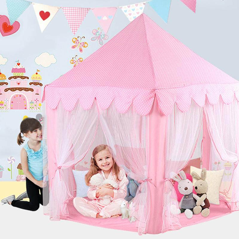 Portable Children Kids Play Tents Outdoor Garden Folding Toy Tent Pop Up Kids Girl Princess Castle Outdoor Playhouse Kids Tent High Quality Child Kids P ...  sc 1 st  DHgate.com : girl play tent - memphite.com