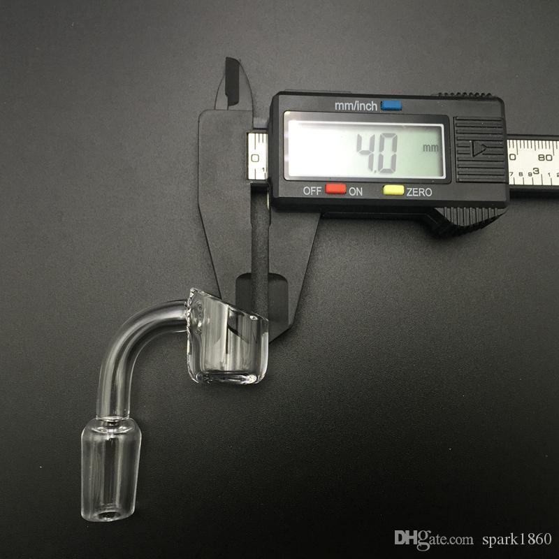 Domeless Quartz Banger Nail Femelle et Mâle Joint 10mm 14mm 18mm offrent également un clou en verre de montage de quartz banger pour Nectar Collector Kit new