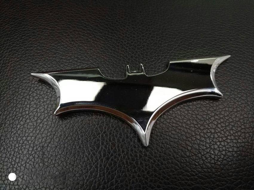 Universal Car Styling Auto Emblem 3D Sticker Logo Bat Batman For Any Car wood sticker door tail head window sticker