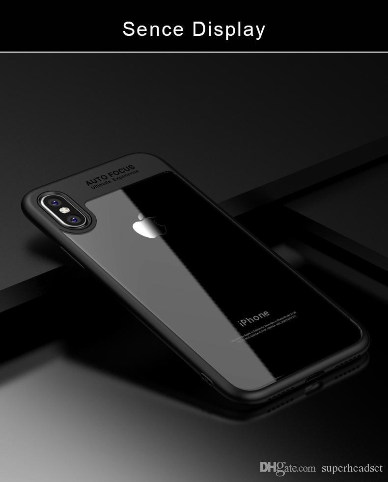 Vollschutzhülle für das iPhone X iPhone 10 TPU PC harte freie dünne rückseitige Abdeckung für Apple iPhone X Fall