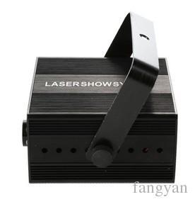 ESTRANGEIRA RG 3 Lente 40 Padrões De Mistura De Laser Projetor Efeito de Iluminação de Palco Azul LEVOU Luzes Do Palco Show de Discoteca DJ Partido iluminação