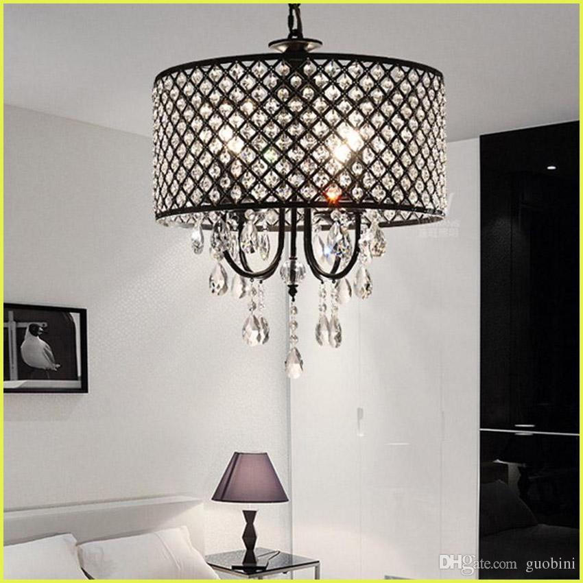 Nordic American Crystal Chandelier Pendant Lighting Chain Chandelier ...