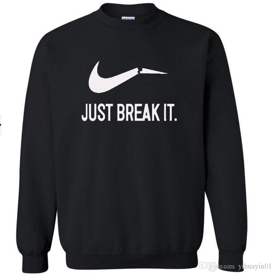 2017 autunno-abbigliamento invernale streetwear famoso marchio basta romperlo pullover casual uomo felpe felpa abbigliamento sportivo