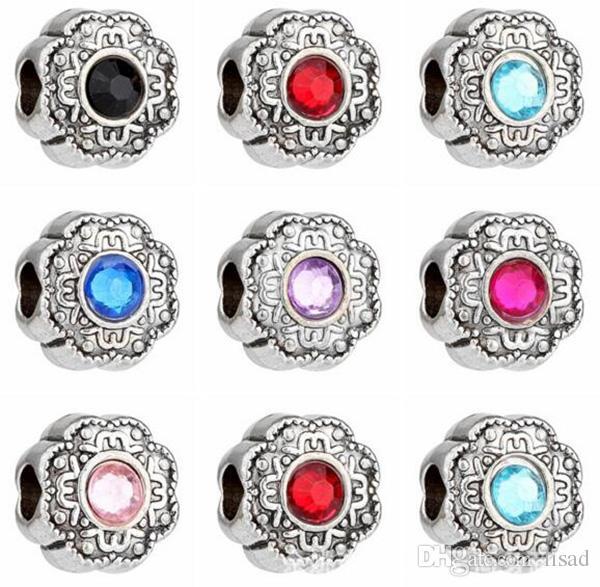 Fashion Charm Bracelets,DIY Prong Setting Beads Charms for Bracelet ...