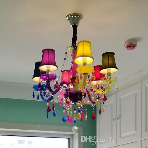 Colorful kids light cloth stores coffee restaurant candle colorful kids light cloth stores coffee restaurant candle chandelier princess room children girl led color crystal chandeliers chandeliers on sale outdoor aloadofball Choice Image