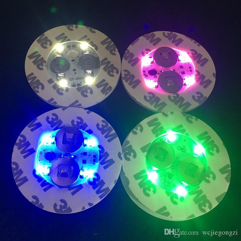 Luce a LED base in vetro Bong Luce LED multicolore Regolazione automatica in magazzino OLTRE 50Pz DHL libero