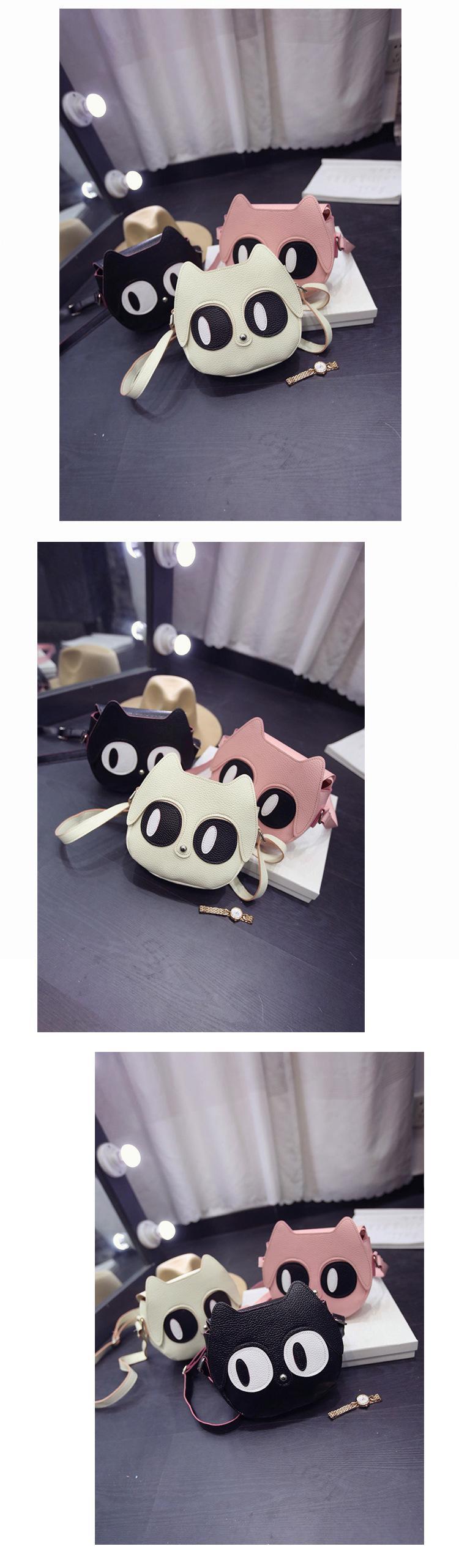 wholesale Cartoon printing Women bag Female PU leather Mini Crossbody Shoulder bags Girls Messenger bag children kids cute purse