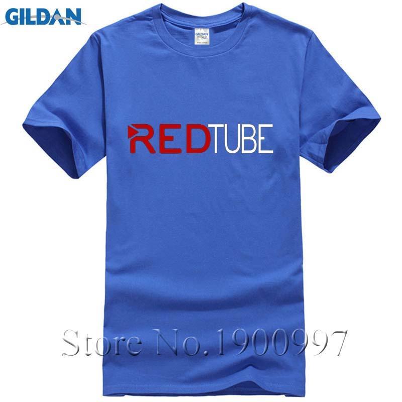 2017 Casual Fashion RedTube Logo Men'S T Shirt Cotton Male Tops Tee Shirts  Hot Fashion Red Tube T Shirt Oversized Porn Hub Movie Crazy Tee Shirts  Online ...
