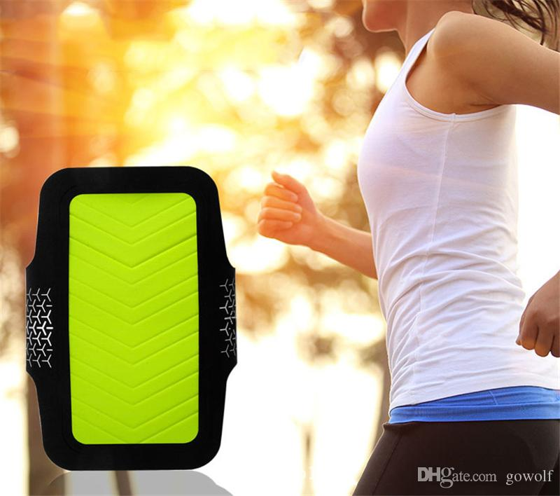 DHL High Quality Bag Waterproof Sports Running Case Armband Workout Holder Pouch Cell Mobile Phone Arm Bag Band For iphone 6